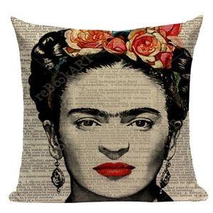 Frida Kahlo Throw Pillow Cover Home Decor Pillow